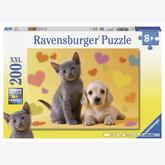 Jigsaw puzzle 200 pcs - Best Friends - XXL (by Ravensburger)