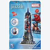 216 pcs - Marvel Avengers Empire State Building - Puzzle 3D (by Ravensburger)