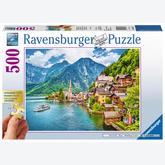 500 pcs - Hallstatt in Austria - XXL (by Ravensburger)