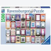 1500 pcs - Windows in Porto (by Ravensburger)