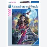 Jigsaw puzzle 1000 pcs - Guardian of the wolves (by Ravensburger)