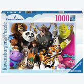 1000 pcs - Dreamworks Family (by Ravensburger)