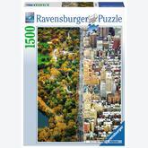 1500 pcs - Separate city (by Ravensburger)