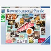 Jigsaw puzzle 1500 pcs - Time for Coffee (by Ravensburger)