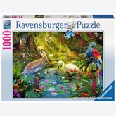 1000 pcs - Paradise of Birds (by Ravensburger)