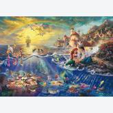 Jigsaw puzzle 1000 pcs - Disney Little Mermaid, Ariel - Thomas Kinkade (by Schmidt)