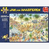 Jigsaw puzzle 1500 pcs - The Oasis - Jan van Haasteren (by Jumbo)