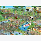 Jigsaw puzzle 1000 pcs - Mudracers - Jan van Haasteren (by Jumbo)