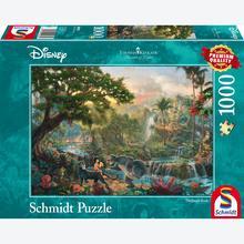 Jigsaw puzzle 1000 pcs - Disney The Jungle book - Thomas Kinkade (by Schmidt)