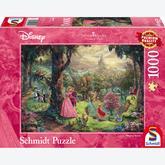1000 pcs - Disney Sleeping Beauty - Thomas Kinkade (by Schmidt)