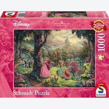 Jigsaw puzzle 1000 pcs - Disney Sleeping Beauty - Thomas Kinkade (by Schmidt)