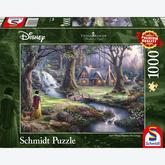 1000 pcs - Disney Snow White - Thomas Kinkade (by Schmidt)