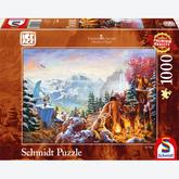 Jigsaw puzzle 1000 pcs - Disney Ice Age - Thomas Kinkade (by Schmidt)