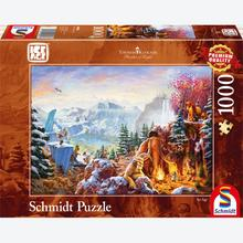 Jigsaw puzzle 1000 pcs - Disney Ice Age - Thomas Kinkade (by Schmidt)