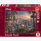 Jigsaw puzzle 1000 pcs - Disney Lady and the Tramp - Thomas Kinkade (by Schmidt)