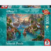 1000 pcs - Disney Peter Pan - Thomas Kinkade (by Schmidt)