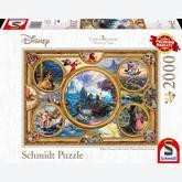 2000 pcs - Disney Dreams Collection - Thomas Kinkade (by Schmidt)