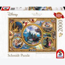Jigsaw puzzle 2000 pcs - Disney Dreams Collection - Thomas Kinkade (by Schmidt)
