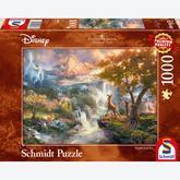 1000 pcs - Disney Bambi - Thomas Kinkade (by Schmidt)