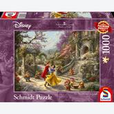 1000 pcs - Disney Snow White Dancing With The Prince - Thomas Kinkade (by Schmidt)