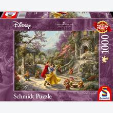 Jigsaw puzzle 1000 pcs - Disney Snow White Dancing With The Prince - Thomas Kinkade (by Schmidt)
