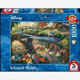 1000 pcs - Disney Alice in Wonderland - Thomas Kinkade (by Schmidt)