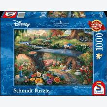 Jigsaw puzzle 1000 pcs - Disney Alice in Wonderland - Thomas Kinkade (by Schmidt)