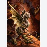 1000 pcs - Desert Dragon - Anne Stokes (by Schmidt)