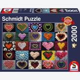 2000 pcs - Hearts for Madalene (by Schmidt)