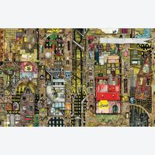Jigsaw puzzle 1000 pcs - Fantastic Townscape - Colin Thompson (by Schmidt)