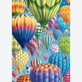 Jigsaw puzzle 1000 pcs - Balloons in The Sky (by Schmidt)