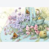 1000 pcs - Basket of Flowers - Marjolein Bastin (by Schmidt)