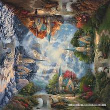 Jigsaw puzzle 1000 pcs - The Mountain Chapel - Thomas Kinkade (by Schmidt)