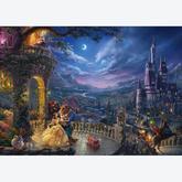 1000 pcs - Beauty and the Beast - Thomas Kinkade (by Schmidt)