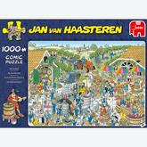 Jigsaw puzzle 1000 pcs - The Winery - Jan van Haasteren (by Jumbo)
