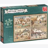 1000 pcs - 4 Seasons - Anton Pieck (by Jumbo)