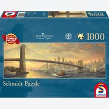 Jigsaw puzzle 1000 pcs - New York Panorama - Thomas Kinkade (by Schmidt)