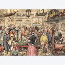 Jigsaw puzzle 1000 pcs - The Exposition - Anton Pieck (by Jumbo)