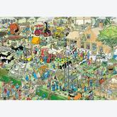 Jigsaw puzzle 1000 pcs - Farm Visit - Jan van Haasteren (by Jumbo)