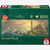 1000 pcs - Lighthouse - Thomas Kinkade (by Schmidt)