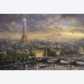 Jigsaw puzzle 1000 pcs - Paris, City of Love - Thomas Kinkade (by Schmidt)