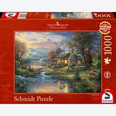 Jigsaw puzzle 1000 pcs - Natures Paradise - Thomas Kinkade (by Schmidt)