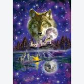 Jigsaw puzzle 1000 pcs - Wolf in Moonlight (by Schmidt)