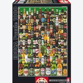 Jigsaw puzzle 1000 pcs - Beers - Genuine (by Educa)