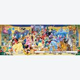 Jigsaw puzzle 1000 pcs - Disney Group Picture - Panorama (by Ravensburger)