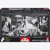 1000 pcs - Guernica, Pablo Picasso - Miniature (by Educa)