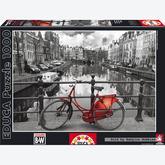 Jigsaw puzzle 1000 pcs - Amsterdam Netherlands - Black and White (by Educa)
