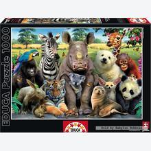 Jigsaw puzzle 1000 pcs - It's a Class Photo - Genuine (by Educa)