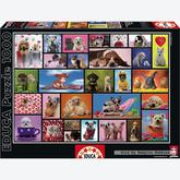 Jigsaw puzzle 1000 pcs - Shared Moments - Genuine (by Educa)