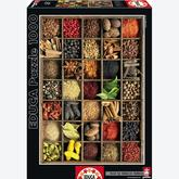 Jigsaw puzzle 1000 pcs - Spices - Genuine (by Educa)